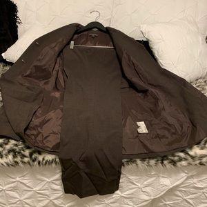 Brown Pant Suit